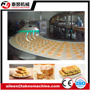 Full Automatic Two Layer Cake Machine pictures & photos