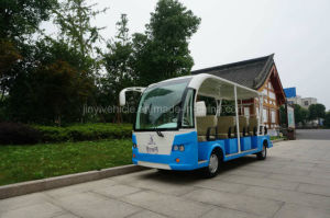 Electric Tourist Car with 14 Passenger Seats in Changzhou pictures & photos