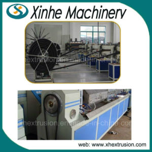 PE Carbon Spiral Reinforced Pipe Production Line/30-100mm Pipe Extrusion Line pictures & photos