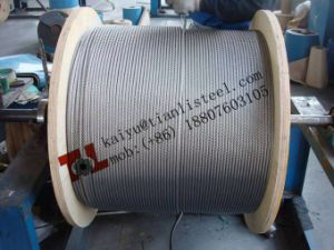 SUS304 7*19 Stainless Steel Rope pictures & photos
