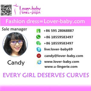 Fashion Women Lauper Ruched Mini Dress L28232 pictures & photos
