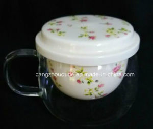 Wholesale Handblown Borosilicate Glass Cup pictures & photos