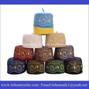 Islamic Hat Arab Turban Muslim Hat Made of Wool Felt Material Embroideried pictures & photos