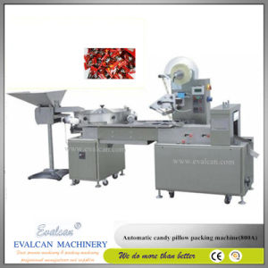Automatic Candy Flow Poillow Wrapping Machine (800A) pictures & photos