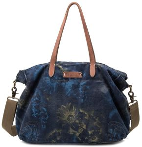 New Lady′s Canvas Vintage Tote Bag Leather Strap, Shopping Shoulder Bags pictures & photos