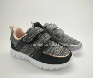 Children Summer Fashion Sports Running Shoes with Jersey Upper pictures & photos