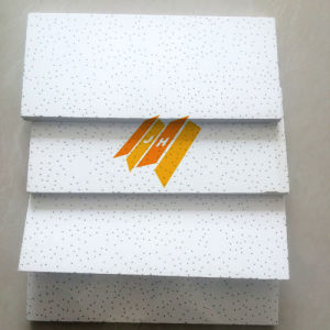 Sandy Texture Mineral Fiber Ceiling Board Ceiling Tiles (600*600, 610*610 etc) pictures & photos