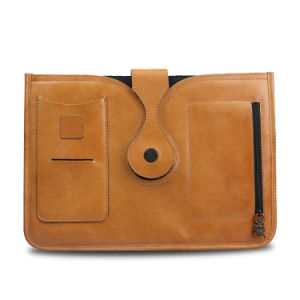 Genuine Leather Tablet Case Cover Business Envelope Clutch File Folder pictures & photos