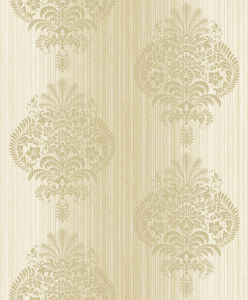 Luxury Designs Soft Surface Velvet Flocking Wallpaper Decoration Wall pictures & photos