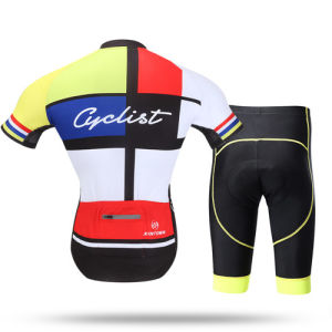 Quick-Dry Biking Cycling Clothes Bicycle Cycling Jersey Breathable Mountain Bike Custom Cycling Jerseys pictures & photos