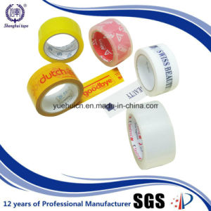 Sealing Used High Tensial Strength Branded Packing Tape pictures & photos