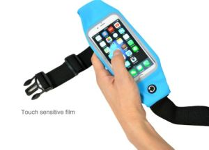 Running Waist Sport Belt Bag for Smart Phones 4.7′′ 5.5′′ Cellphone with Touch Screen Window pictures & photos