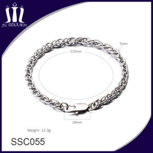 New Design Custom Jewelry Stainless Steel Chain Bracelet pictures & photos