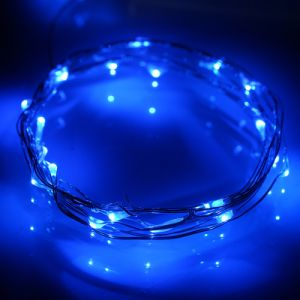 Fairy Blue 7.2 Feet Copper Silver Wire Fairy Starry Flashing Light Made in China Shenzhen Long Lifespan Waterproof pictures & photos