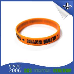 2017 Hot Sale Cheap Custom Silicon Bracelet pictures & photos