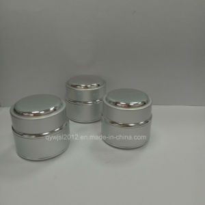2017 New Products 30g Matte Silver Aluminum Cream Jars pictures & photos