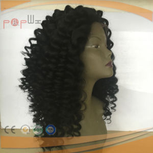 India Virgin Hair Afro Kinky Curly Full Lace Wig pictures & photos