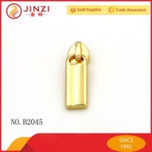Customize Gold Colour Zinc Alloy Zipper Sliders Metal Zipper Puller for Handbag pictures & photos