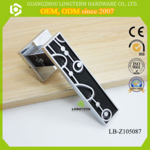 Nice Design Lever Door Handle on Plate with Mortise Lock pictures & photos