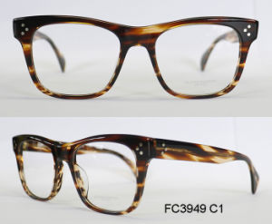 Rectangular Frames Acetate Optical Frame for Men with (Ce) Eyewear pictures & photos