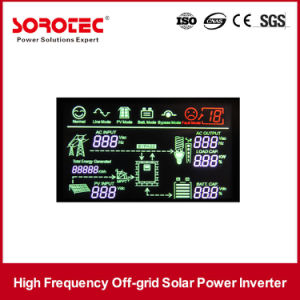 Home Solar Systems 220VAC 1-5kVA Solar Inverter with Built-in Charge Controller pictures & photos