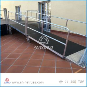 Aluminum Stage Platform Adjustable Stages pictures & photos
