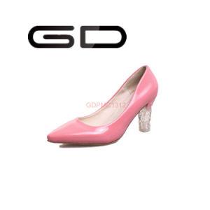 Shiny Charge LED Shoes Pumps Ladies Shoes pictures & photos