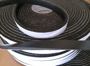 9.5mm Black Color Single Sided PVC Foam Tape pictures & photos