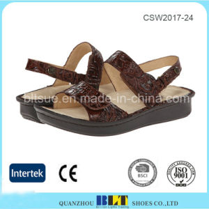 Wholesale Comfortable Leather Lining Casual Shoes for Women pictures & photos