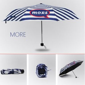 Creative Vinyl 3 Folding Umbrella, Wholesale Sun Umbrella pictures & photos