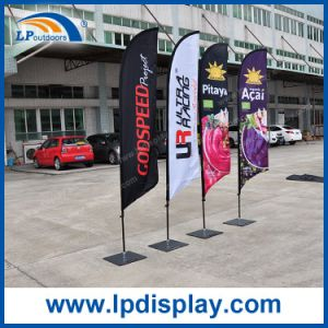 Customized Small Beach Flag Advertising Oudoor Banners and Flags pictures & photos