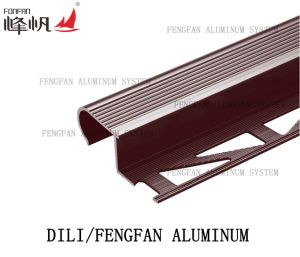 Decoration Material Flooring Accessories Tighten Tile Trim Transition Angle Edge pictures & photos