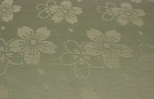 100% Polyester Jacquard Woven Curtain Fabric with Flower Pattern pictures & photos