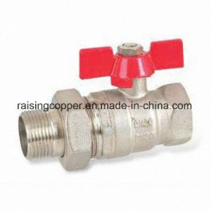 Ball Valve with Butterfly Handle pictures & photos