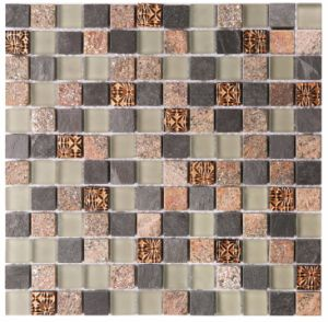 Glass & Stone Mosaic Hand-Cut Design for Wall Tile pictures & photos