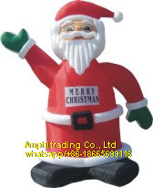 Inflatable Air Blow Santa Claus Mascot Costume for Outdoors pictures & photos