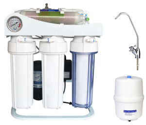 Premium Competitive Household Undersink Reverse Osmosis System with UV (Kk-RO50g-C) pictures & photos