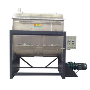 Plastic Powder Horizontal Heating Plastic Mixer/Ribbon Blender