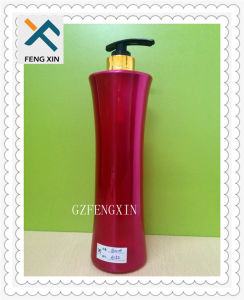 Empty Plastic Shampoo Bottle 500ml with Body Lotion Pump pictures & photos