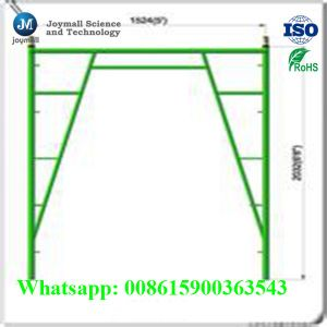 Steel Frame System Scaffold Steel for Construction pictures & photos