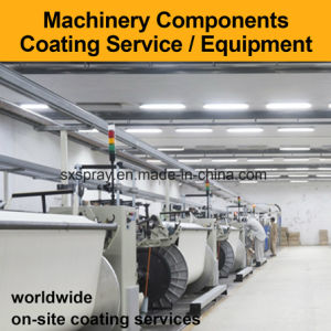 Plasma Spray Thermal Coating Equipment Textile Machinery Components Repair Surface Treatment Tungsten Wc Metal Alloy Stainless Steel Brass Copper Aluminum pictures & photos