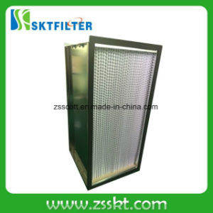 H13 Air HEPA Filter Type Deep-Pleat HEPA Filter pictures & photos