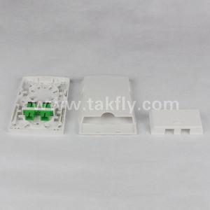 2 Port Sc APC FTTH Box Mini Fiber Terminal Box pictures & photos