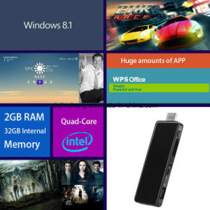 Tiny PC Stick for Home or Commercial Support Multiple Language pictures & photos