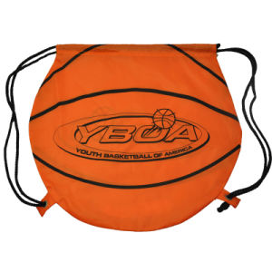 Polyester Nylon Basketball Drawstring Backpack Bag (dB-313) pictures & photos
