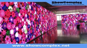 Indoor Full Color Video LED Display with High Contrast (500mm*500mm pH3.91/pH4.81) pictures & photos