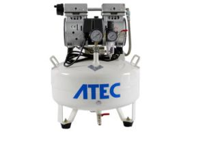 550W Atec Silent Oilless Dental Air Compressor pictures & photos