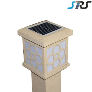 2016 Chinese Design High Quality Cube Solar Landscape Lawn Light with Ce in White pictures & photos