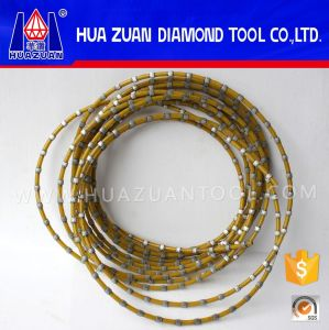 High Efficiency 7.2mm Profiling Using Plastic Wire Saw pictures & photos