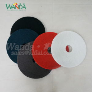 White Floor Polishing Pad Floor Buffing Pad for Spray Cleaning pictures & photos